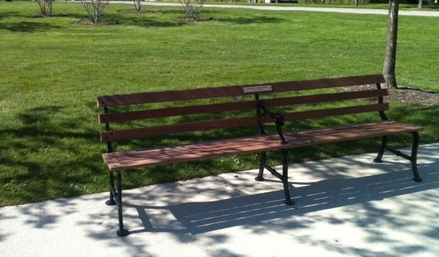 Donor Bench Program Chicago Park District