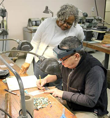 Lapidary Class at Lincoln Park