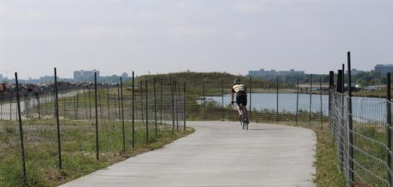 Four new paths along the lakefront