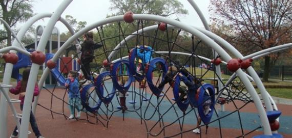 New Playground at Gompers Park